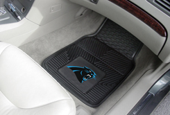 NFL Heavy Duty Car Mats PANTHERS