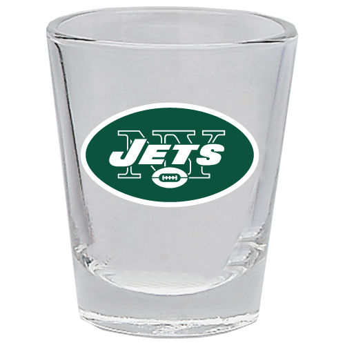 NEW YORK JETS 2OZ. BOTTOMS UP COLLECTOR GLASS