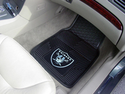 NFL Heavy Duty Car Mats RAIDERS