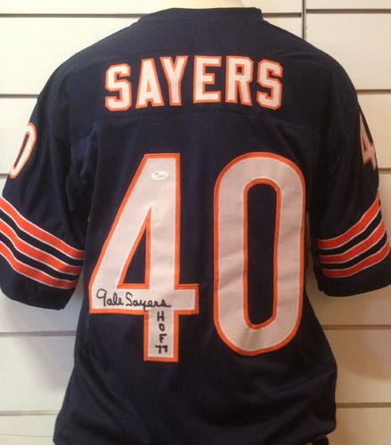 Gale Sayers Signed Bears Jersey #40