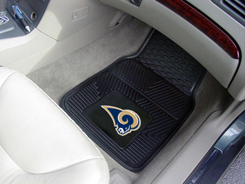 NFL Heavy Duty Car Mats RAMS