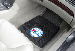 NBA Heavy Duty Car Mats 76ERS