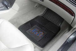 MLB Heavy Duty Car Mats METS
