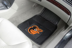 MLB Heavy Duty Car Mats ORIOLES
