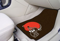 Cleveland Browns NFL Car Mats 2 Piece Front
