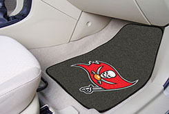 Tampa Bay Buccaneers NFL Car Mats 2 Piece Front