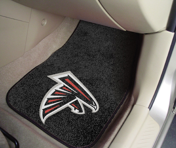 Atlanta Falcons NFL Car Mats 2 Piece Front