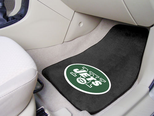 New York Jets NFL Car Mats 2 Piece Front