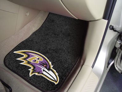 Baltimore Ravens NFL Car Mats 2 Piece Front