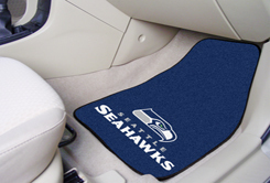 Seattle Seahawks NFL Car Mats 2 Piece Front