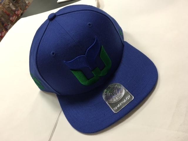 Hartford Whalers All-Blue 47 Brand Snapback Hat 1ff5b948419