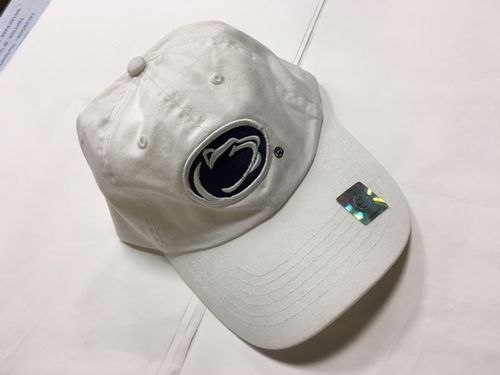 Penn State White Adjustable Hat
