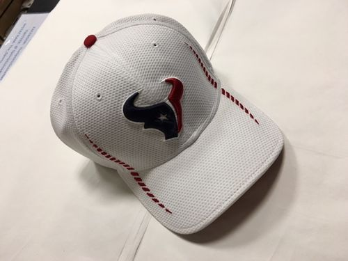 Houston Texans White Stretch Fit New Era Hat