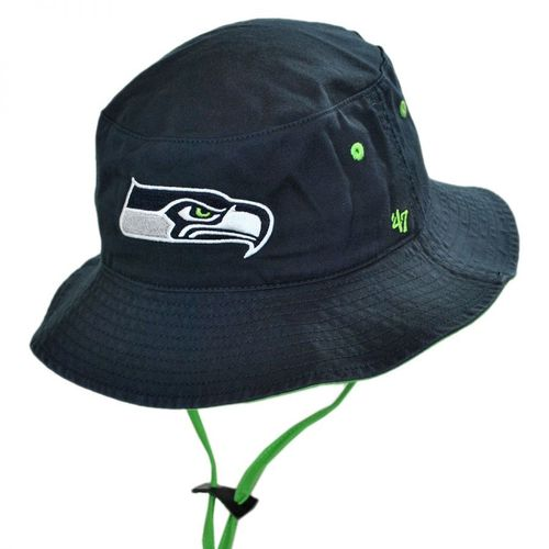 Seattle Seahawks 47 Brand Bucket Hat