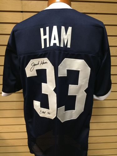 Jack Ham Autographed Penn State Jersey #33
