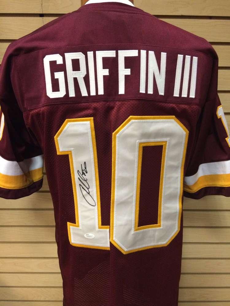 online store c8b27 bef07 Robert Griffin III Autographed Washington Redskins Jersey #10