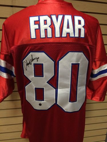 Irving Fryar Autographed New England Patriots Throwback Jersey #80