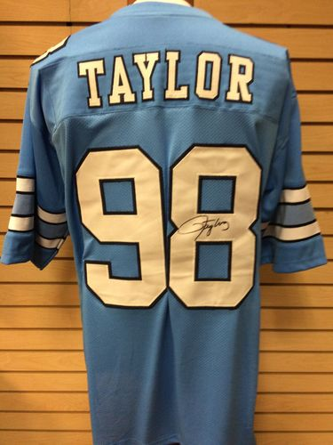 Lawrence Taylor Autographed UNC Tar Heels Jersey #98