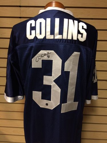 Andre Collins Autographed Penn State Jersey #31
