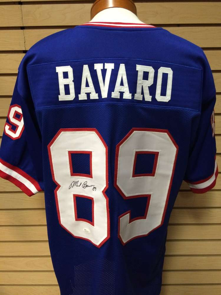 sports shoes 0ae3f d527b Mark Bavaro Autographed New York Giants Jersey #89
