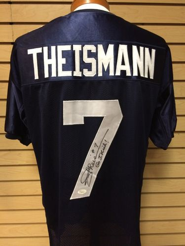 Joe Theismann Autographed Notre Dame Fighting Irish Jersey #7