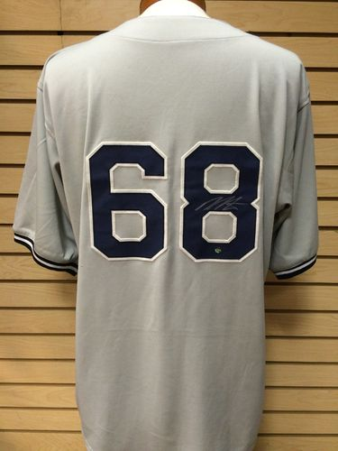 Dellin Bentances Autographed New York Yankees Jersey #68