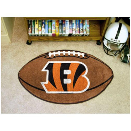 Cincinatti Bengals Football Floor Mat