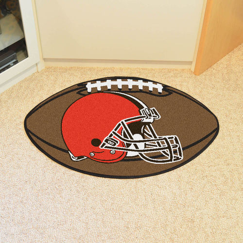 Cleveland Browns Football Floot Mat