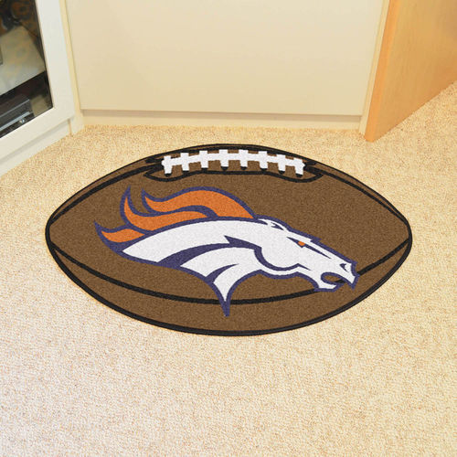 Denver Broncos Football Floor Mat
