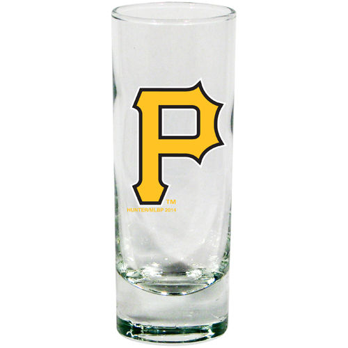 Pittsburgh Pirates 2 oz Cordial Shot Glass