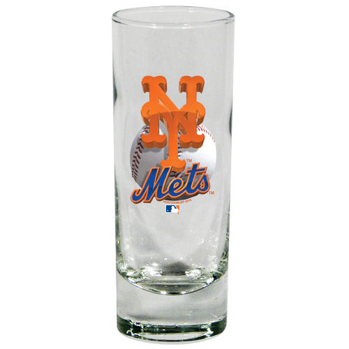 New York Mets 2 oz 3D Cordial Shot Glass