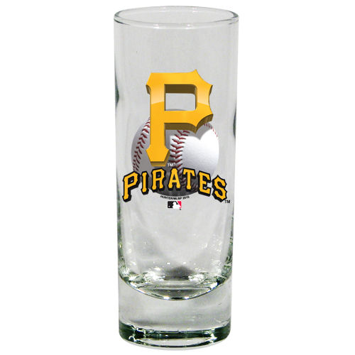 Pittsburgh Pirates 2 oz 3D Cordial Shot Glass
