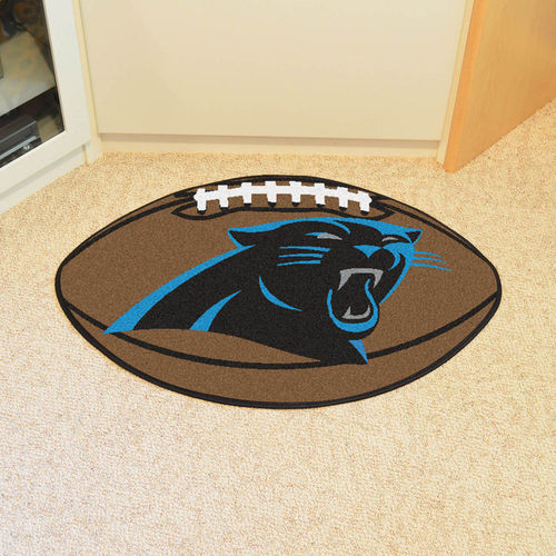 Carolina Panthers Football Floor Mat