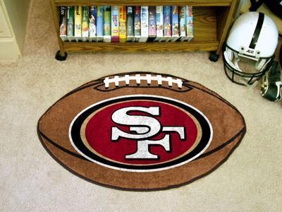 San Fracisco 49ers Football Floor Mat