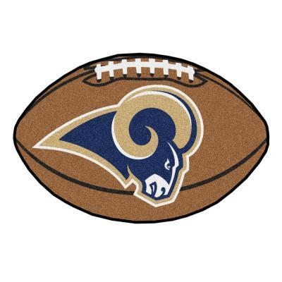 Los Angleles Rams Football Floor Mat