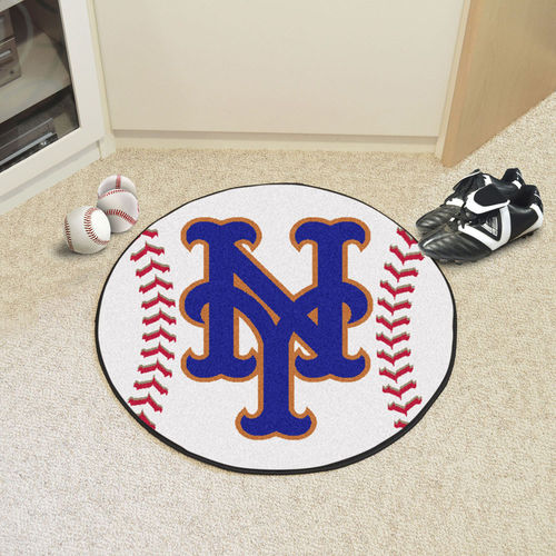 New York Mets Baseball Floor Mat