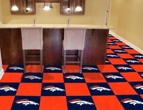Denver Broncos Carpet Tiles