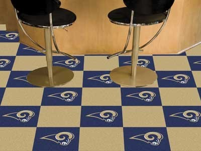 Los Angeles Rams Carpet Tiles