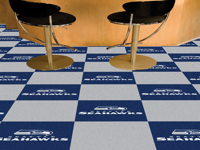 Seattle Seahawks Carpet Tiles