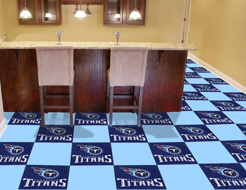 Tennessee Titans Carpet Tiles