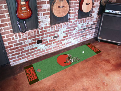 Cleveland Browns Golf Putting Mat