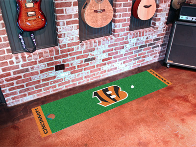 Cincinatti Bengals Golf Putting Mat
