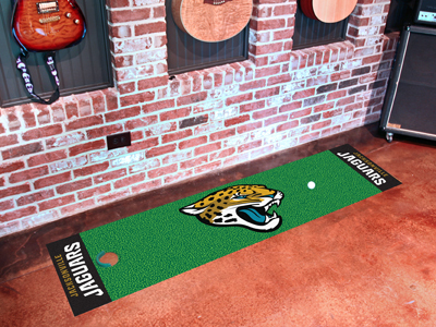 Jacksonville Jaguars Golf Putting Mat