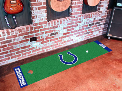 Indianapolis Colts Golf Putting Mat