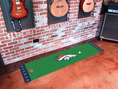Denver Broncos Golf Putting Mat