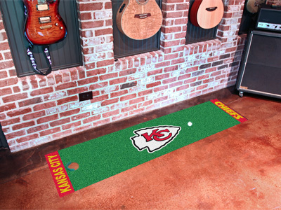 Kansas City Chiefs Golf Putting Mat