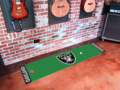 Oakland Raiders Golf Putting Mat
