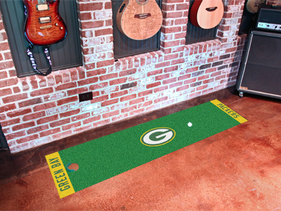 Green Bay Packers Golf Putting Mat