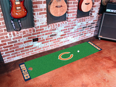 Chicago Bears Golf Putting Mat