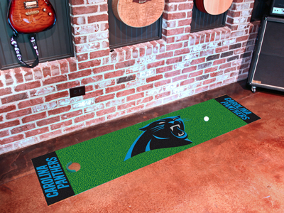 Carolina Panthers Golf Putting Mat